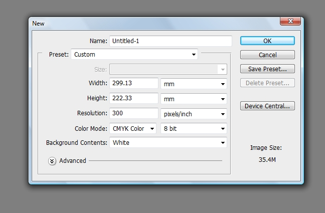 Image Resolution in Photoshop