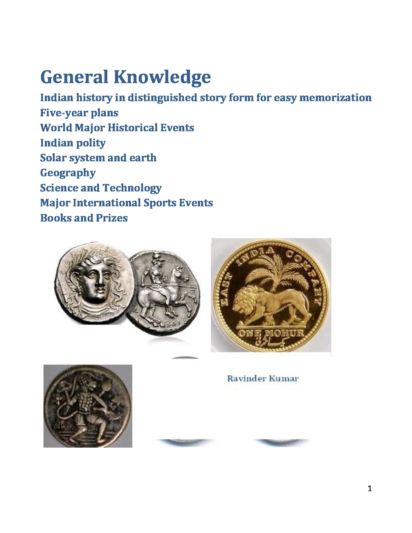 General Knowledge (eBook) eBook | Pothi com