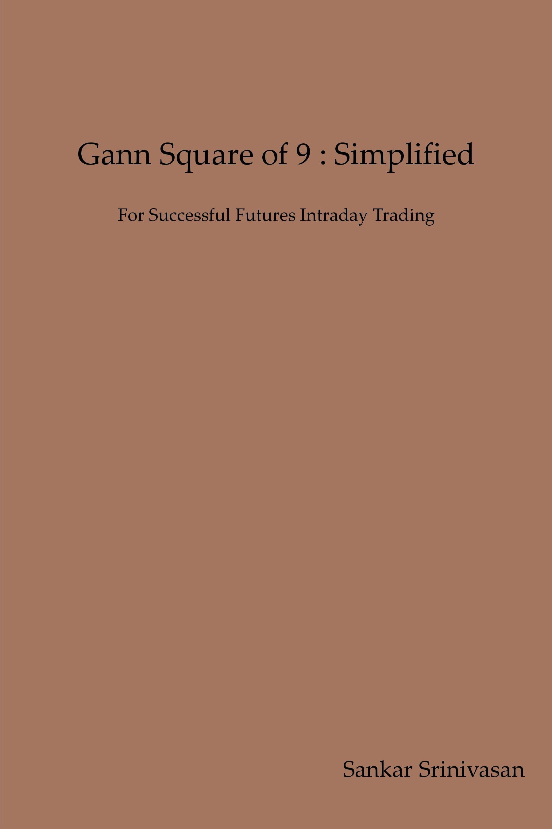 Gann Square of 9 : Simplified | Pothi com