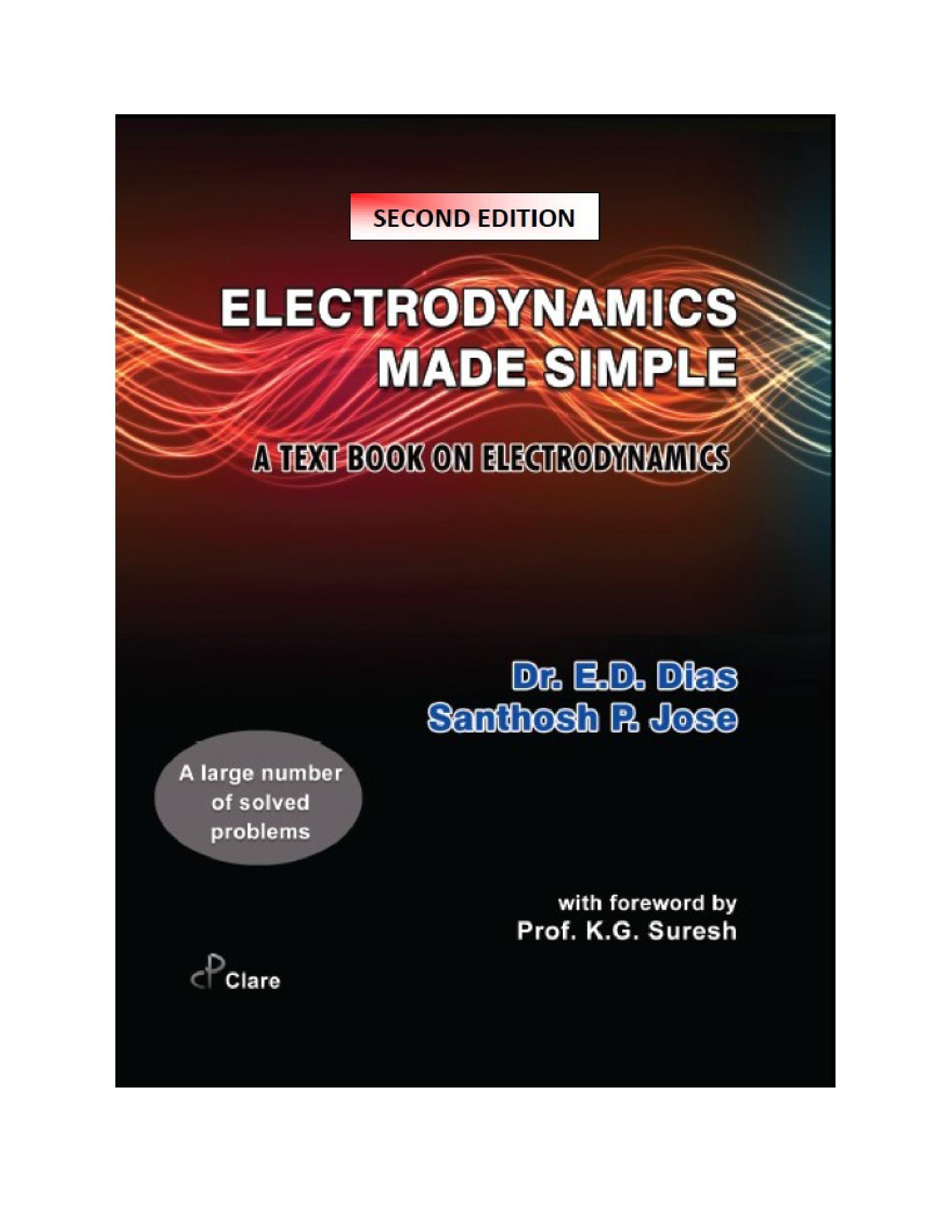 ELECTRODYNAMICS MADE SIMPLE (eBook) eBook | Pothi com
