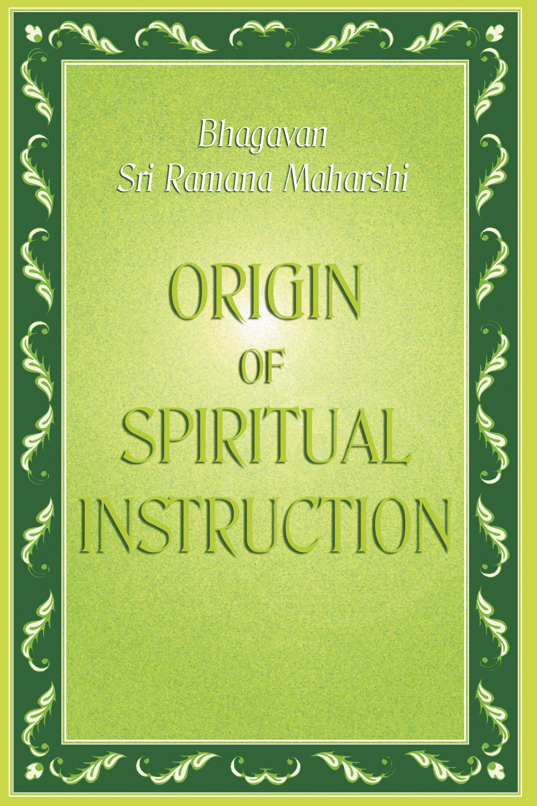 Origin of Spiritual Instruction | Pothi.com