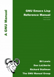 GNU Emacs Lisp Reference Manual