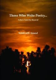 Those Who Write Poetry
