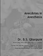 Anecdotes in Anaesthesia