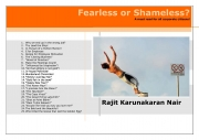 Fearless or Shameless? (eBook)