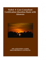 Siebel 8 Core Consultant Certification Question Bank with Answers (eBook)