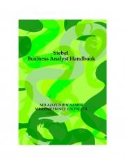 Siebel Business Analyst ( BA ) Handbook (eBook)