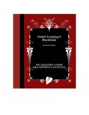 Siebel Scripting 8 Blackbook (eBook)