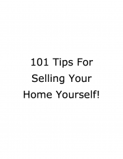 101 tips to sell your house (eBook)