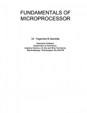 Fundamentals of Microprocessor (eBook)