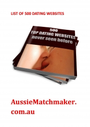 500 TOP DATING WEBSITES NEVER SEEN BEFORE (eBook)