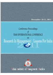 "TIMS International Conference Proceedings on ""Research in Management: Lessons for India"""