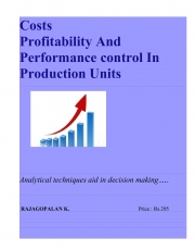 Costs, Profitability and Performance Control in Production Units (eBook)