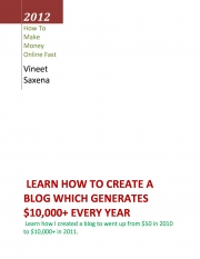 Guide to Create a Blog to Make $10,000+ per Year (eBook)