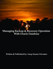 Managing Backup & Recovery Operation With Oracle Database