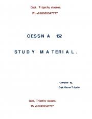 CESSNA 152 Study Material (eBook)