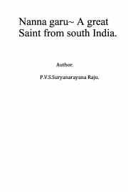 Nanna garu- A great saint from South India. (eBook)