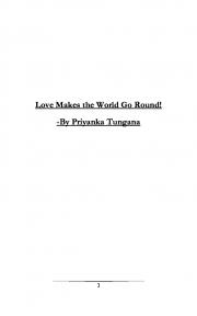 Love makes the world go round (eBook)