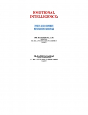 EMOTIONAL INTELLIGENCE: (eBook)
