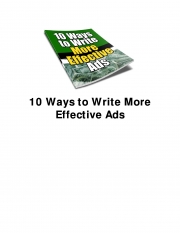 10 Ways to Write More Effective Ads (eBook)