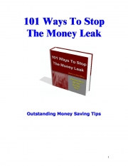101 Ways To Stop The Money Leak (eBook)
