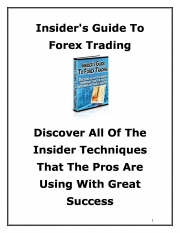 Insider's Guide To Forex Trading (eBook)