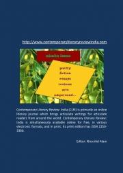 Contemporary Literary Review India