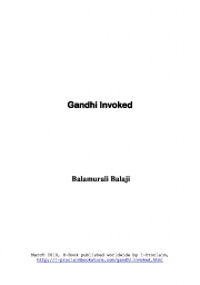 Gandhi Invoked (eBook)
