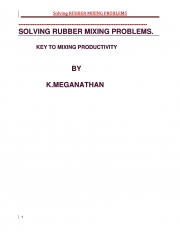 Solving Rubber Mixing Problems (eBook)