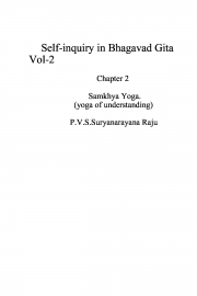 Self-inquiry in Bhagawad Gita Vol 2. (eBook)