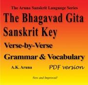 The Bhagavad Gita Sanskrit Key, PDF (eBook)