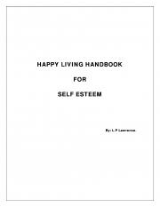 Happy Living Hand Book for Self Esteem (eBook)