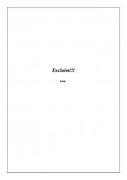 Exclaim (eBook)