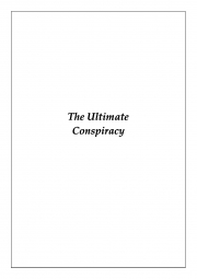 The Ultimate Conspiracy (eBook)