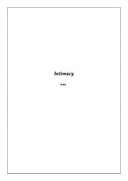 Intimacy of Romeo and Juliet (eBook)