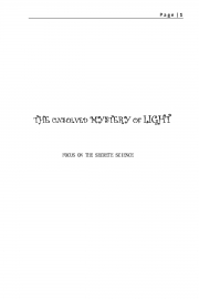 THE UNSOLVED MYSTERY OF LIGHT (eBook)