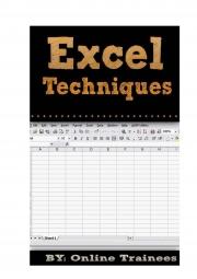 Excel Techniques (eBook)