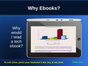 Why Ebooks? (eBook)