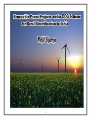 Renewable Energy Power Projects for Rural Electrification (eBook)