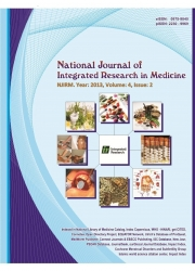 National Journal of Integrated Research in Medicine,  (eBook)