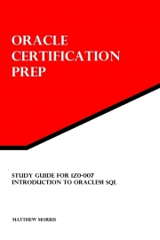 Study Guide for 1Z0-007: Introduction to Oracle9i SQL