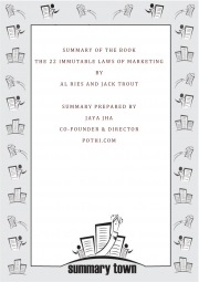 Summary of The 22 Immutable Laws of Marketing (eBook)