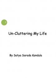 Un-Cluttering My Life (eBook)
