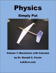 Physics Simply Put - Volume 1 (eBook)