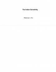 Indian Sensibility (eBook)