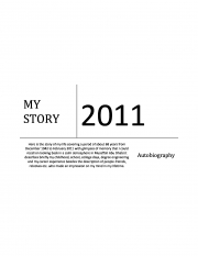 MY LIFE STORY (eBook)