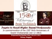Inspire To Reach Higher: Swami Vivekananda (eBook)