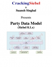 Siebel 8.1.x - Party Data Model (eBook)