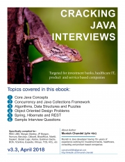 Cracking Java Interviews - Core Java 8, Algorithm, Data Structure, Concurrency, Hibernate and Spring Question Bank  (eBook)