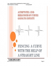 Asymptotes,End Behaviour Of Curves (eBook)